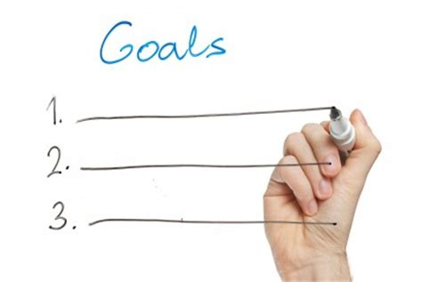 How to write my goals for work
